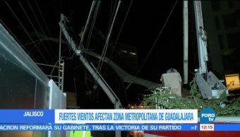 rachas de viento, daños, vivienda, Jalisco