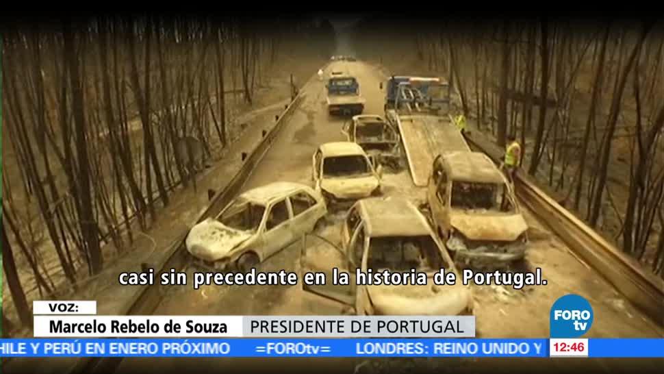 personas, perdieron la vida, incendio forestal, zona centro, Portugal