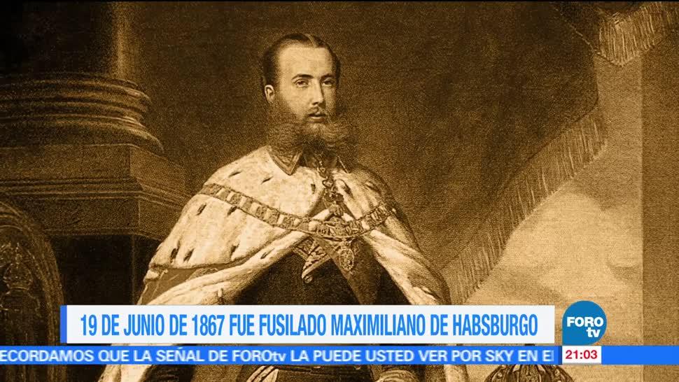 noticias, forotv, Efeméride, En Una Hora, Fusilamiento, Maximiliano