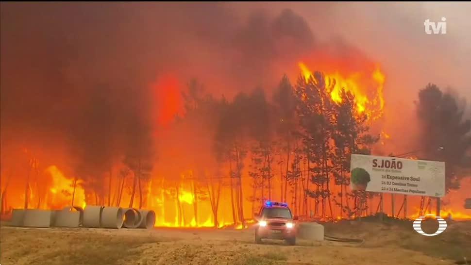 noticias, televisa, Portugal, en el infierno, incendio en Portugal, incendio