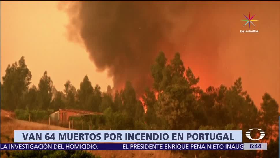 muertos, incendio forestal, Portugal, peor incendio