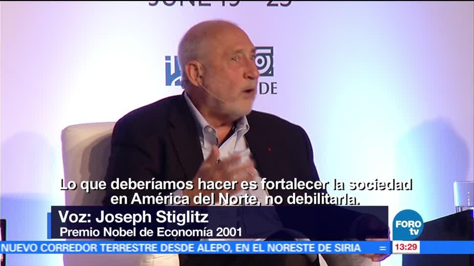 Joseph Stiglitz, relación comercial , México y EU, TLC
