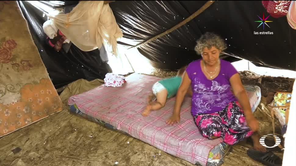 El Desengaño, refugio, guatemaltecos, desplazados, México, enfermedades