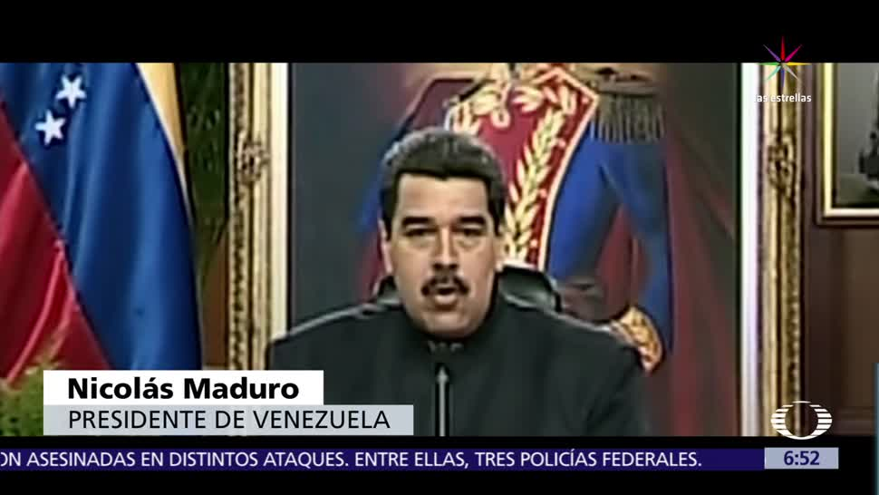 Nicolás Maduro, Luis Almagro, Organización de Estados Americanos, secretario general