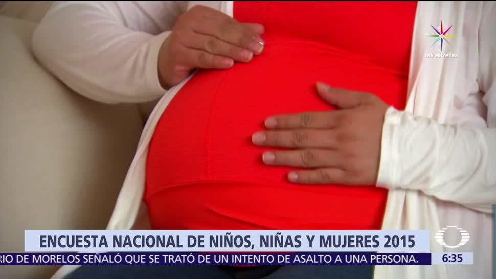 Embarazo, entre menores de edad, foco rojo, México