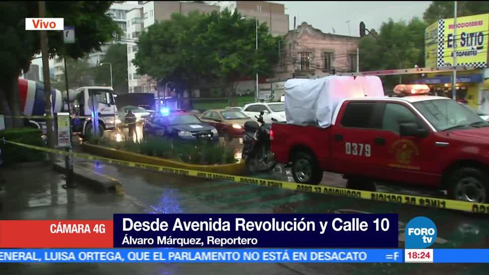 mujer ciclista, murió atropellada, revolvedora, Revolución, CDMX