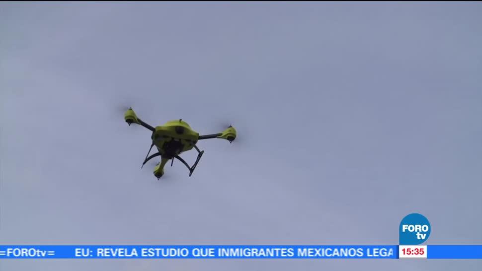 doctora, Diane Pérez, posibilidad, drones, salvar vidas