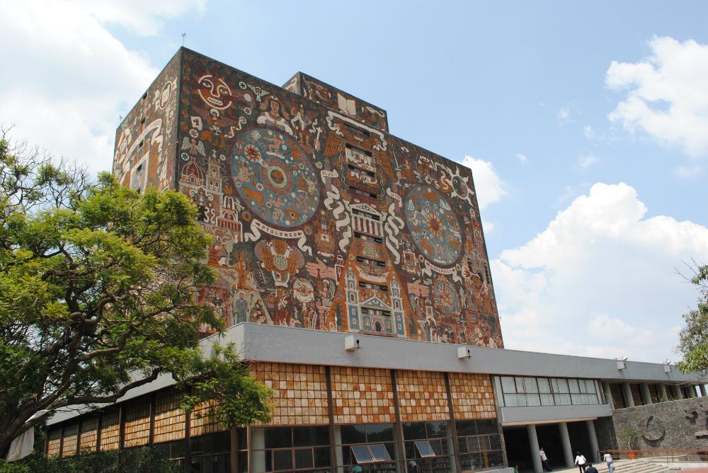 panoramica de la universidad nacional autonoma de mexico