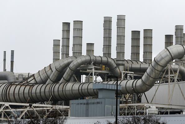 Fábrica en Detroit, Estados Unidos, Contaminación, cambio climático, industria,