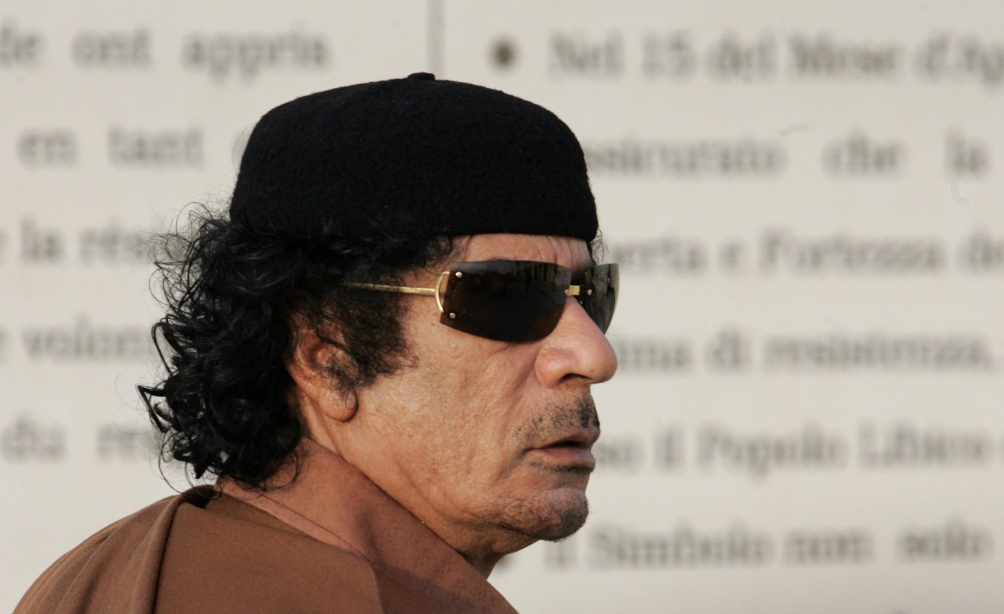 Muamar Gadafi, Libia, Dictador, excéntrico, Gadafi