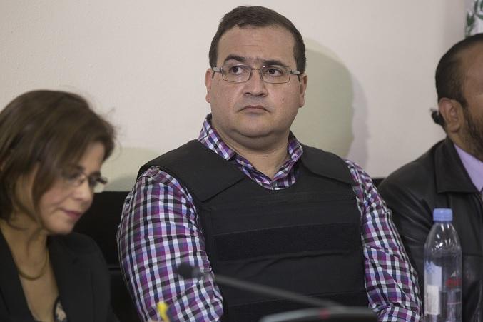 Veracruz, Duarte, corrupción, Guatemala, tribunal, extradición,