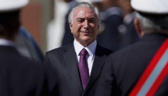 Presidente de Brasil, Michel Temer, honores militares, brasil