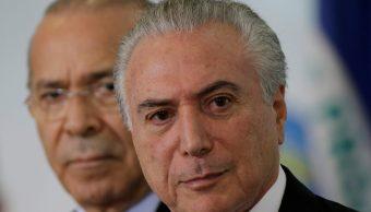 Temer, juicio, Brasil, corrupción, sobornos, policía,