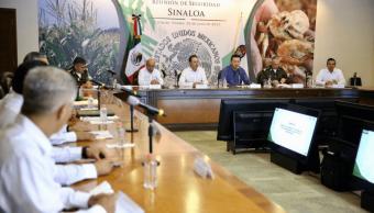 Miguel Ángel Osorio Chong, en la reunión de Seguridad en Sinaloa (1)