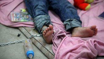 El niño rescatado en la GAM por maltrato es estadounidense. (Twitter@AboGuzmanCubero)