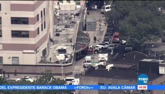 noticias, forotv, Reportan, tiroteo, hospital en Bronx, Nueva York