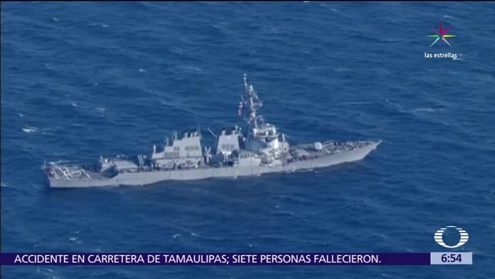 buque destructor, Estados Unidos, mar de China, Taiwán, Vietnam