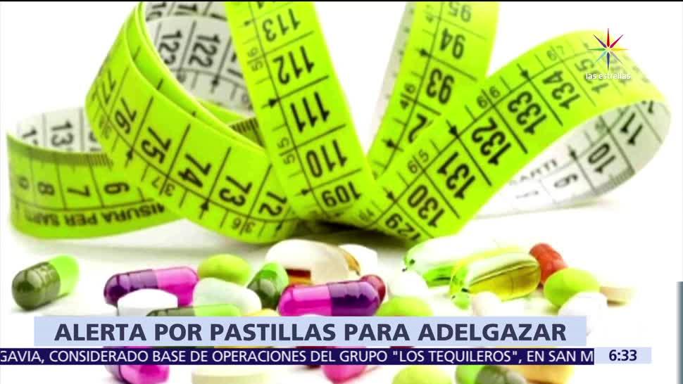 Cofepris, alerta por pastillas, pastillas para adelgazar, Monterrey