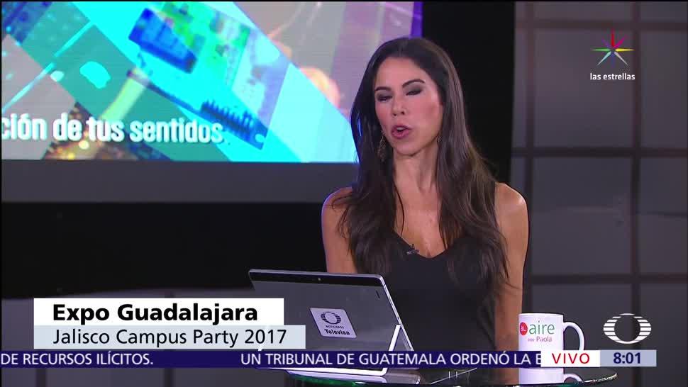 instalaciones, Expo Guadalajara, Campus Party 2017, julio