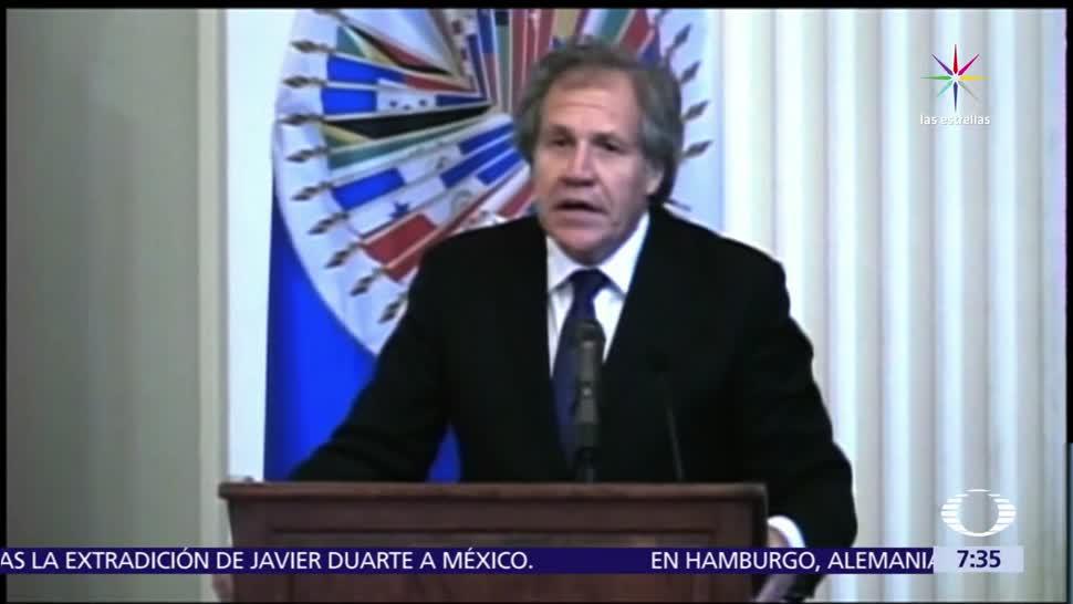 Luis Almagro, secretario general de la OEA, convoca a reunión extraordinaria, crisis en Venezuela