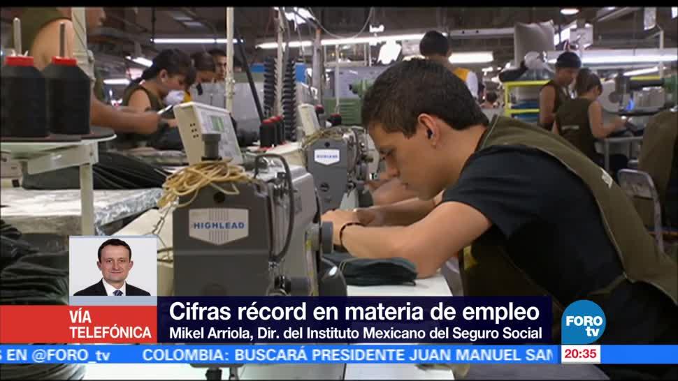 IMSS,, registra, cifras, récord, materia de empleo