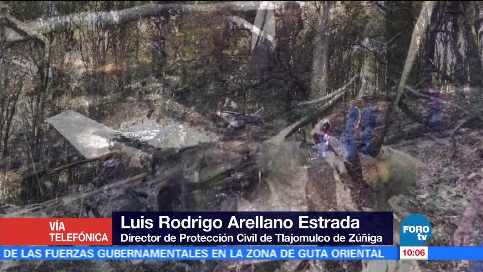 Protección Civil, Jalisco, Luis Rodrigo Arellano Estrada, muerte, avioneta