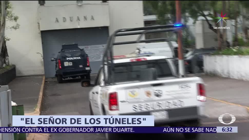 Trasladan, operador, El Chapo, hospital de la CDMX
