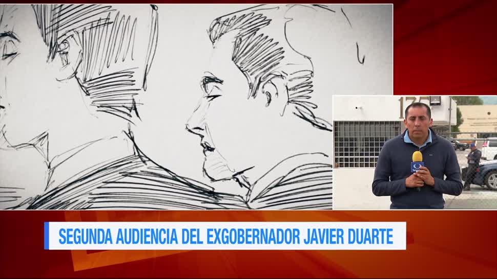 Se cumplen Ocho horas Segunda audiencia Duarte Reclusorio Norte Situación legal