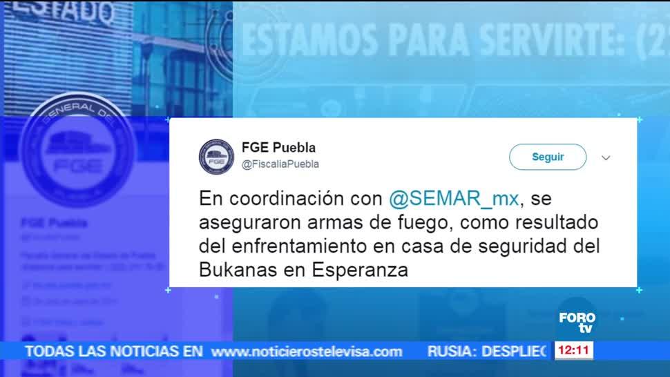 Enfrentamiento Esperanza Puebla Cinco Muertos