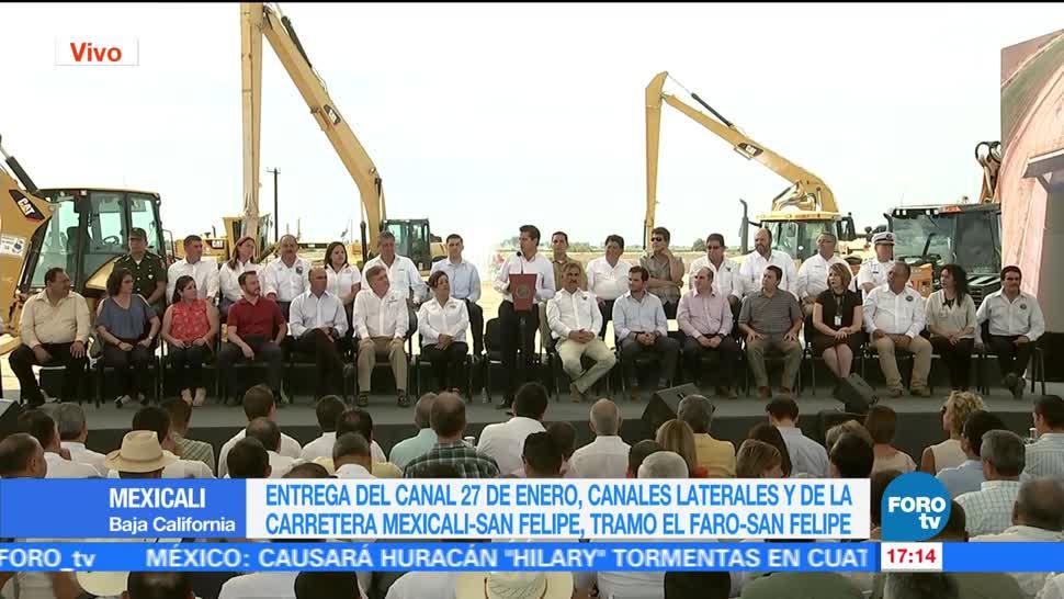 Presidente Enrique Peña Nieto Epn Entrega Obras Viales Baja California