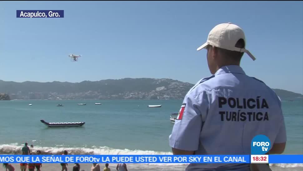 Vacaciones Verano Policia Turistica Puerto Acapulco