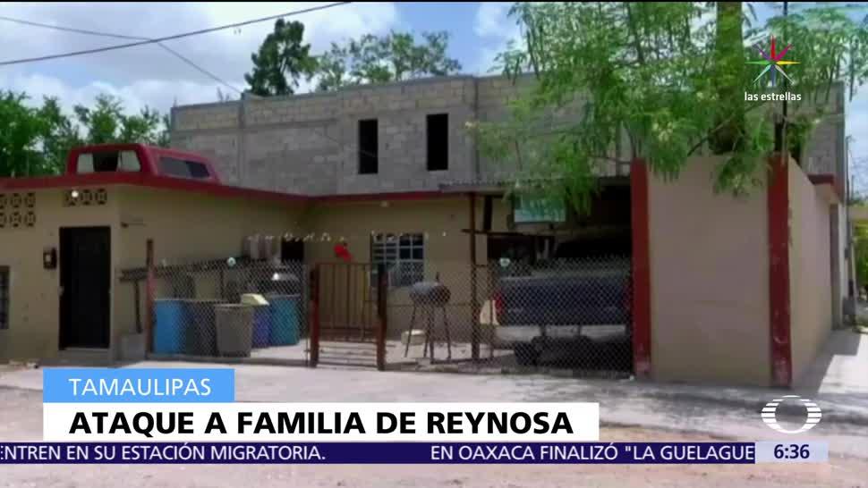 Asesinan, familia, Reynosa, Tamaulipas