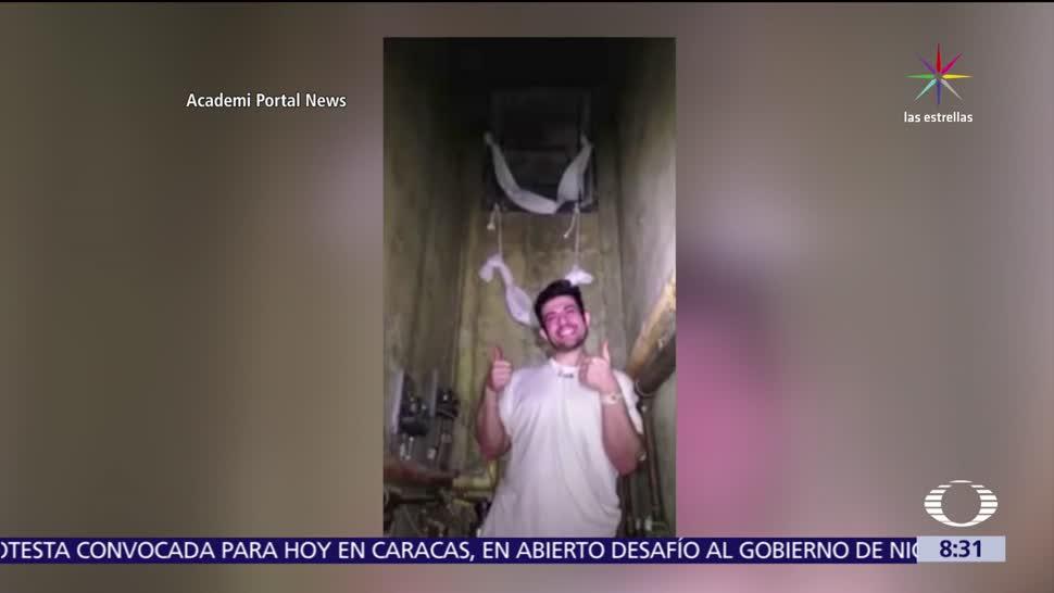 Televisa News Reos Graban Escape Carcel