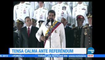 Tensa Calma Venezuela Eleccion Asamblea Constituyente
