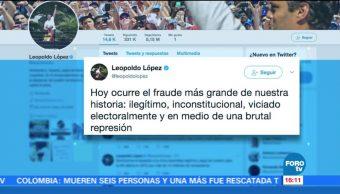 Leopoldo Lopez Mundo Desconocer Elección Asamblea Constituyente
