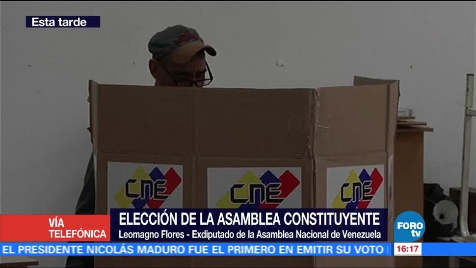 Eleccion Asamblea Constituyente Machada Sangre Exdiputado Venezuela