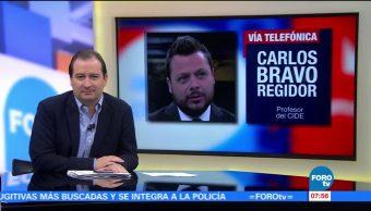Ajustes Gabinete Donald Trump Carlos Bravo Regidor CIDE,