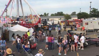 Accidente Juego Mecanico Muerto Heridos Feria Ohio
