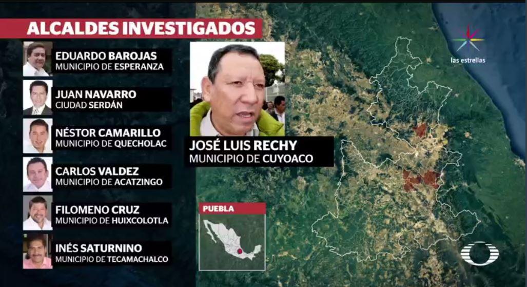 Robo de Combustible, Alcaldes, Puebla, Investigados, Combustible, Huachicol, Huachicoleros