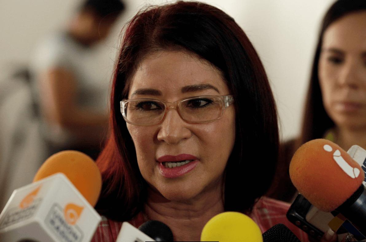 Cilia Flores, esposa del presidente de Venezuela, Nicolás Maduro