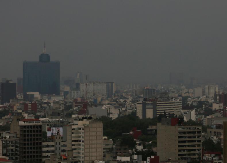 Contaminación ambiental que afecta la CDMX