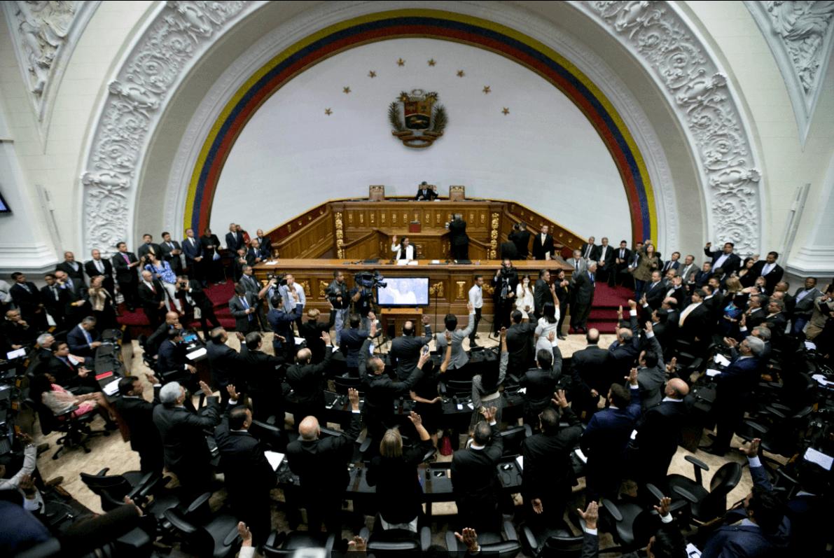 La Asamblea Nacional venezolana está controlada por la oposición