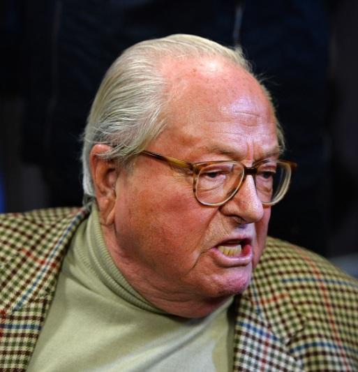 El fundador del partido ultraderechista y xenófobo Frente Nacional (FN), Jean Marie Le Pen (Getty Images)