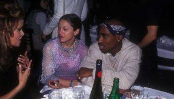 Madonna y el rapero Tupac Shakur