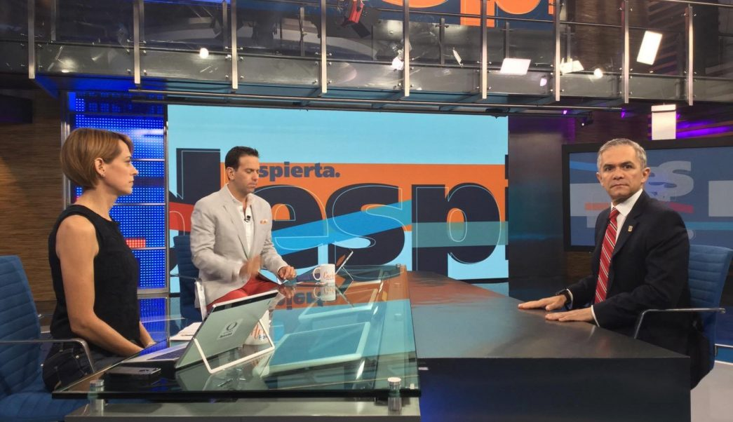 Miguel Ángel Mancera en Despierta con Loret
