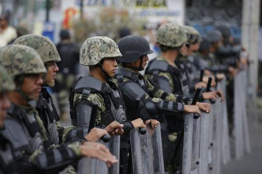 Operativo de la Marina en Tláhuac