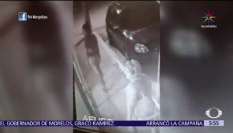 Graban, ladrones, bicicletas, Tamaulipas