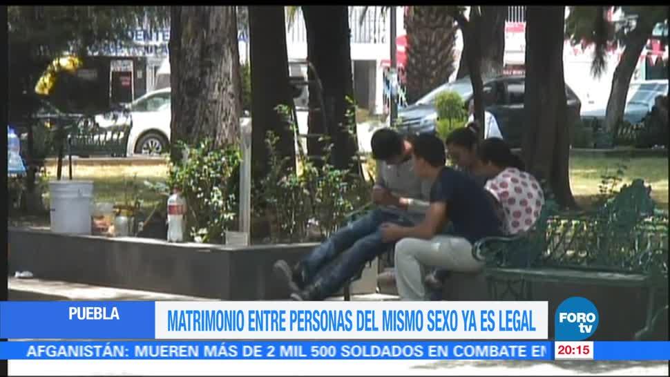 Aprueban matrimonios mismo sexo estado Puebla