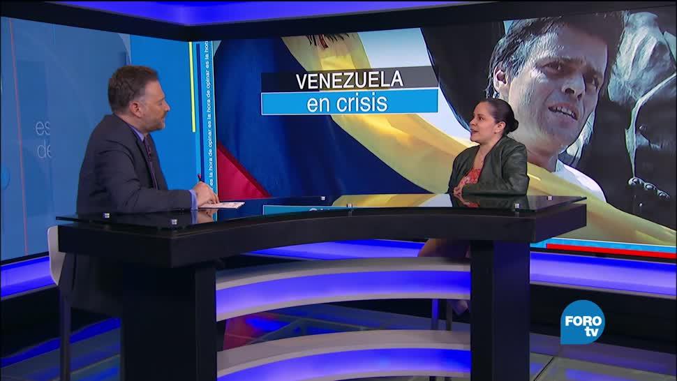Leo Zuckermann Farida Acevedo Crisis Venezuela