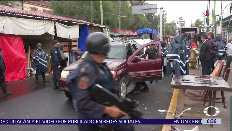 PGR, Policía Federal, Procuraduría, CDMX